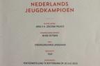 Nederland Jeugdkampioen Aria van het Zocona Palace