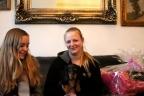 Martini Dogshow en afscheid puppies Zorka 045n